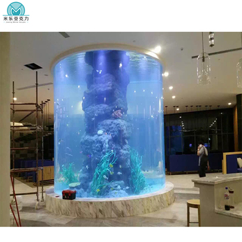 Wholesale hot sell acrylic fish tank/large aquarium for sale,aquarium jellyfish,aquarium decoration