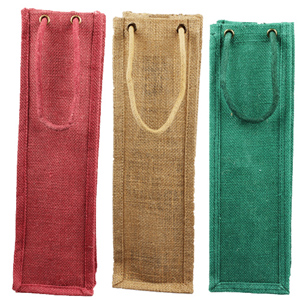 Jute Wine Carry Bag