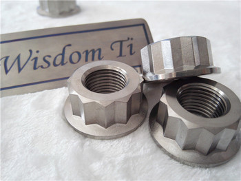Factory supply racing titanium nut motocycle with Quality Assurance