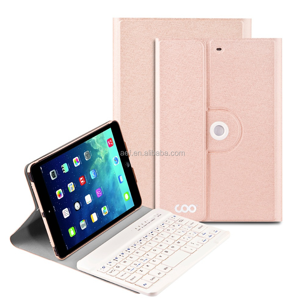 bluetooth outside using wireless keyboard cover case for ipad mini 1 2 3