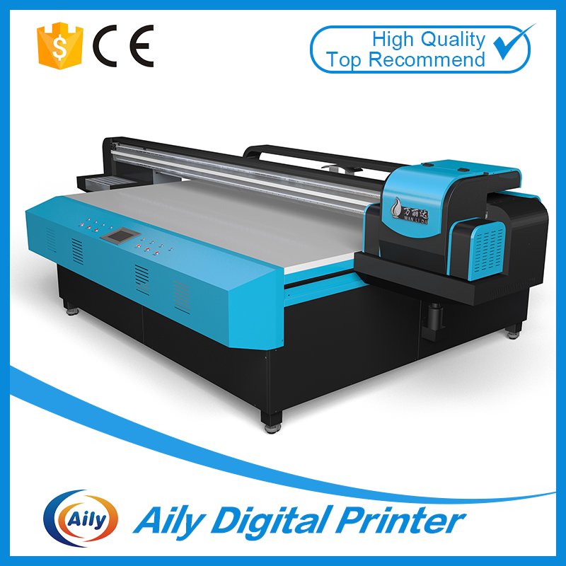 wide format printer with high technology for glass/wood/acrylic advertisement printing