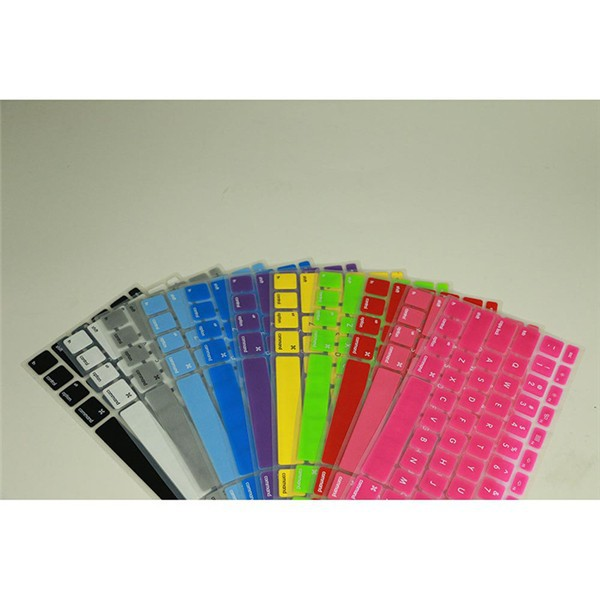 colorful laptop waterproof dustproof silicon keyboard cover For Macbook laptop