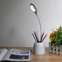 Pen Container Desk Lamp Folding Smart Touch Table Lamp Dimmable Rechargeable Eye Protection Led Desk Book Light
