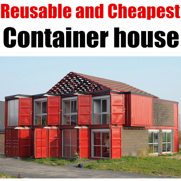 Bright House Sg Block Small Glass Walled Container Houses