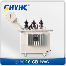 1000 kva capacity 11kv 33kv 3 phase oil power transformer price oil immersed distribution transformer