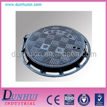 EN124 D400 ductile cast iron sewer manhole cover and frame/manhole cover price