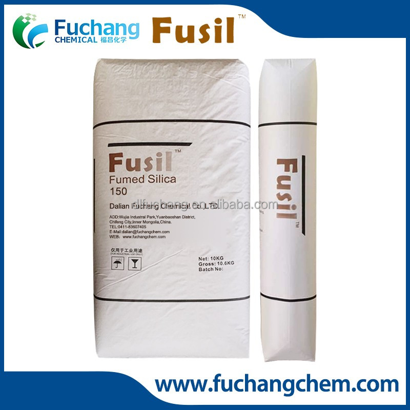 Hydrophilic Fumed Silica Reinforcing Acidic/RTV/Neutral Silicone Rubber Micro Silica Fumed