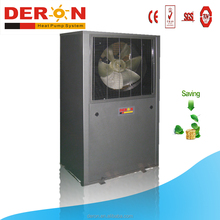 China air source evi heat pump air conditioner with R407C heater for house low temp area use