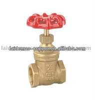 LDM-GV05 Brass Gate Valve With Slow Open Cartridge With Iron Handle