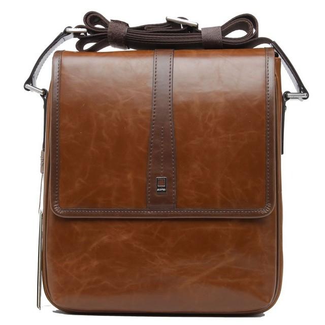 Latest Wholesale Stylish Eco-friendly Cheap PU Leather BOPAI Famous Brand Korean Messenger Bag for Men