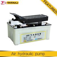 1.6L hydraulic pressure air hydraulic operated foot pumps