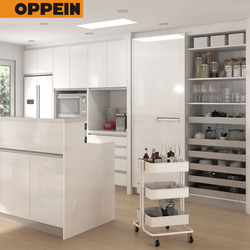 Wholesale High Quality Furniture MDF White Kitchen Cabinets China Price