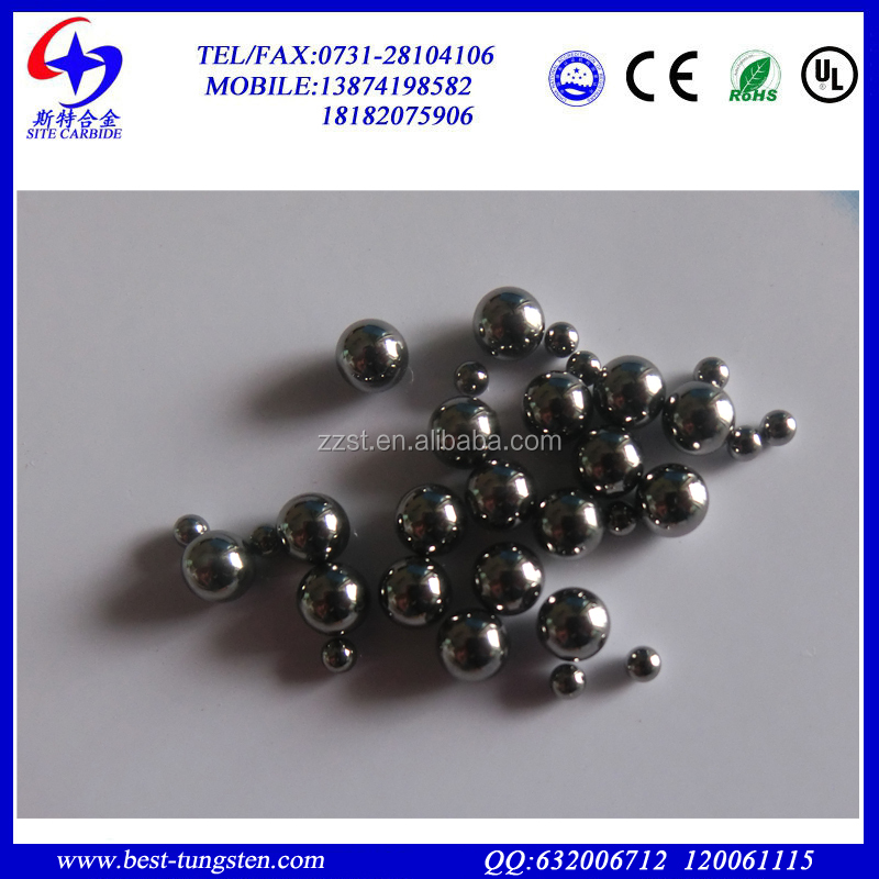 YG6 grade finished G24,<strong>G10</strong>,G5 diameter 10mm 5.0mm tungsten carbide steel bearing ball