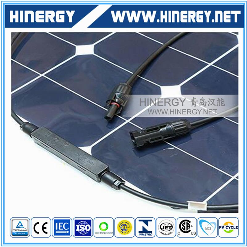 China Factory Offer 1kw Solar Panel Semi Flexible Solar Panel For Curving System, Irregular Roof System