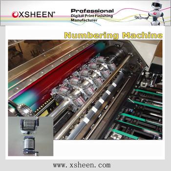 printing numbering machine