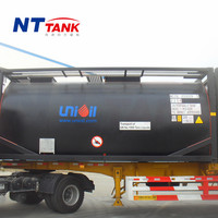 20ft Liquid transport portable iso bitumen asphalt iso tank container