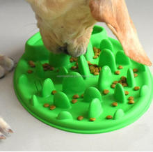 2016 Alibaba Express High Quality Silicone Samll Slow Feed Dog Bowl Made in China