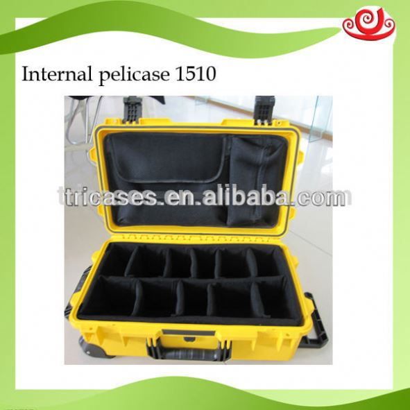 Tricases M2500 high impact plastic case for marine and advanced equipments with CE ISO9001 FDA SGS