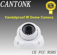 OEM/DOM CCTV Camera CCTV Vandalproof IR Dome Camera 36PCS LED 30M IR Security Camera made in china