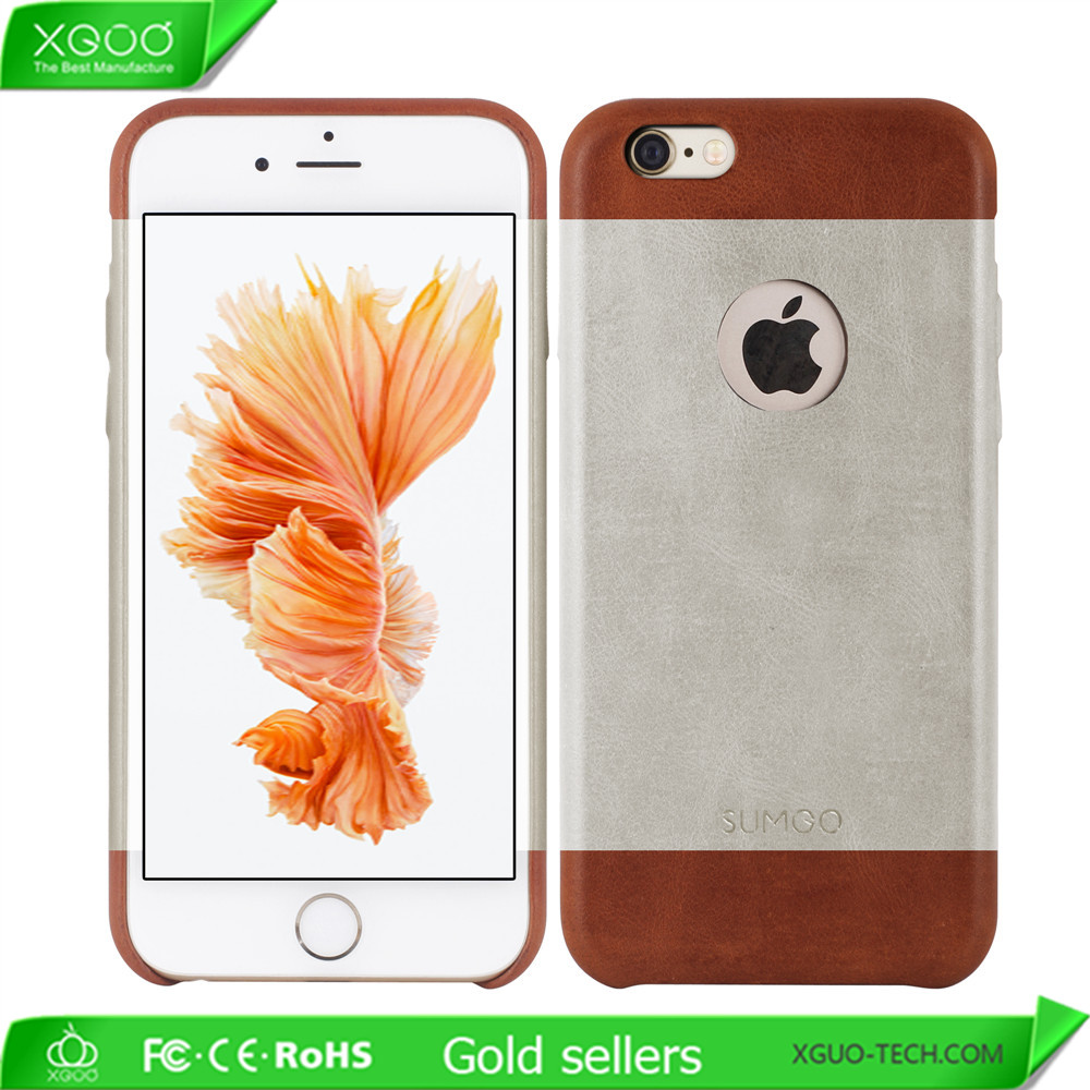 USA style hit color leather cover for phone case iphone 6s