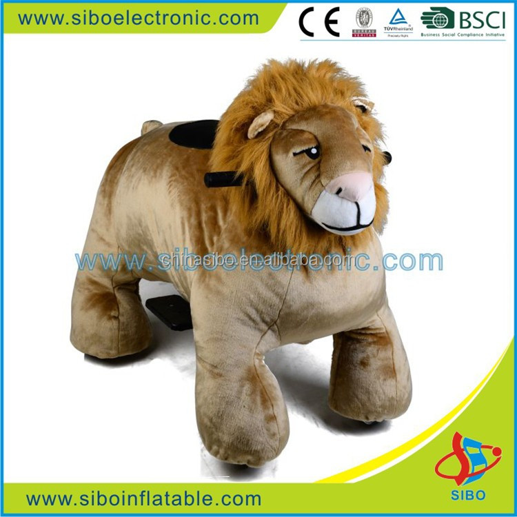 GM59 animal outdoor coin zoo rider walking animal ride on toy for kids