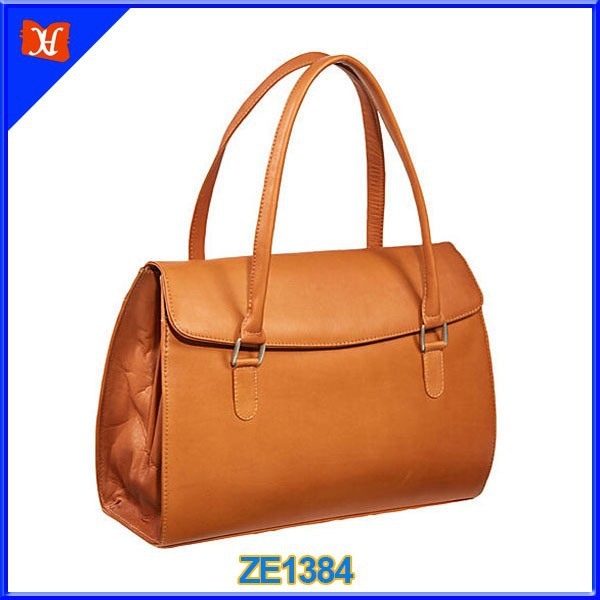 High quality product women leather portfolio ladies leather document case