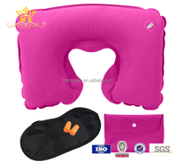 2016 airplane pillow eye cover with earplugs travel set