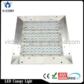 UL approved 120w retrofit led canopy light <strong>140</strong> degree wide angle