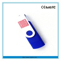 2013 hot selling and promotional Giveaway Swivel USB Flash Drive