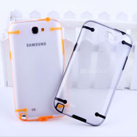 Protective slim armor mobile phone case For Samsung galaxy note 2 protective case in Guangzhou