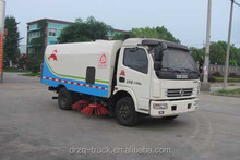Factory direct sale Dongfeng 11495kg gross weight road sweeping machine for road sweep and wash