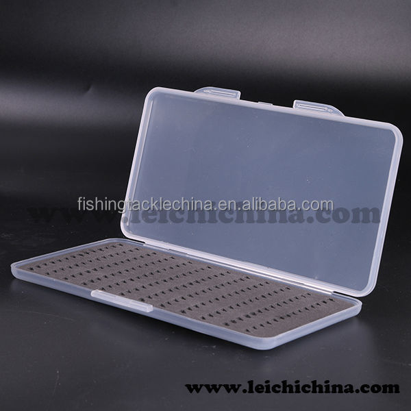 Chinese cheap price clear plastic slim fly box