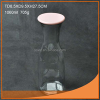 Hot sale good quality 16oz glass bottle nice design