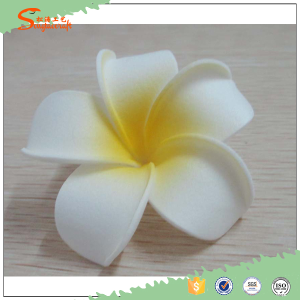 new arrival quality artificial real touch plumeria flowers