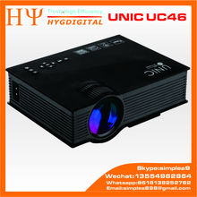 Original UNIC UC46 Wireless Wifi mini Portable Projector Lcd 1200 Lumen 800x480 Full HD LED Video Home Cinema DLNA Airply UNIC U