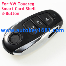 3 Buttons Replacement Remote Key Shell For Volkswagen VW Touareg