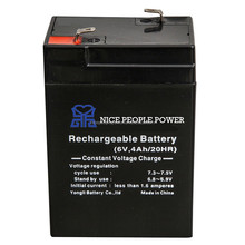 6v 10ah rechargeable battery sealed lead acid battery 6v 400mah micro battery
