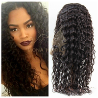 2015 top quality virgin brazilian remy hair, dreadlocks wig lace front wig