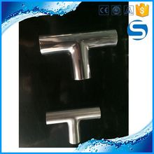 316 Welded Pipe Fittings China Stainless Steel Hydraulic Tee With Fitting