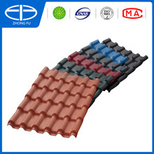 Roofing shingle price types of covering pvc sheet for sale synthetic resin roof sheet