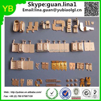 OEM precision metal stamping parts, small metal stamped products