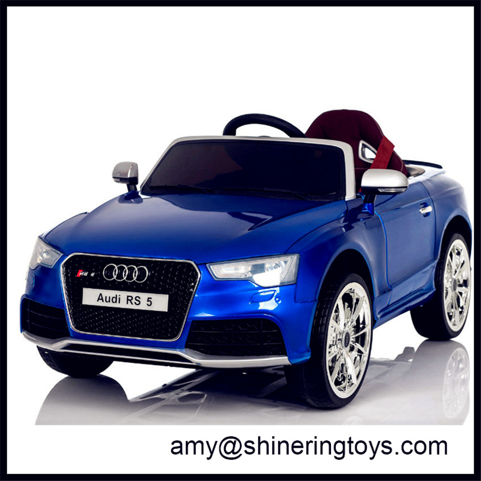 Licensed Audi RS5 ride on car for kids chinese electric children toys r/c rideONEcar cars 12v