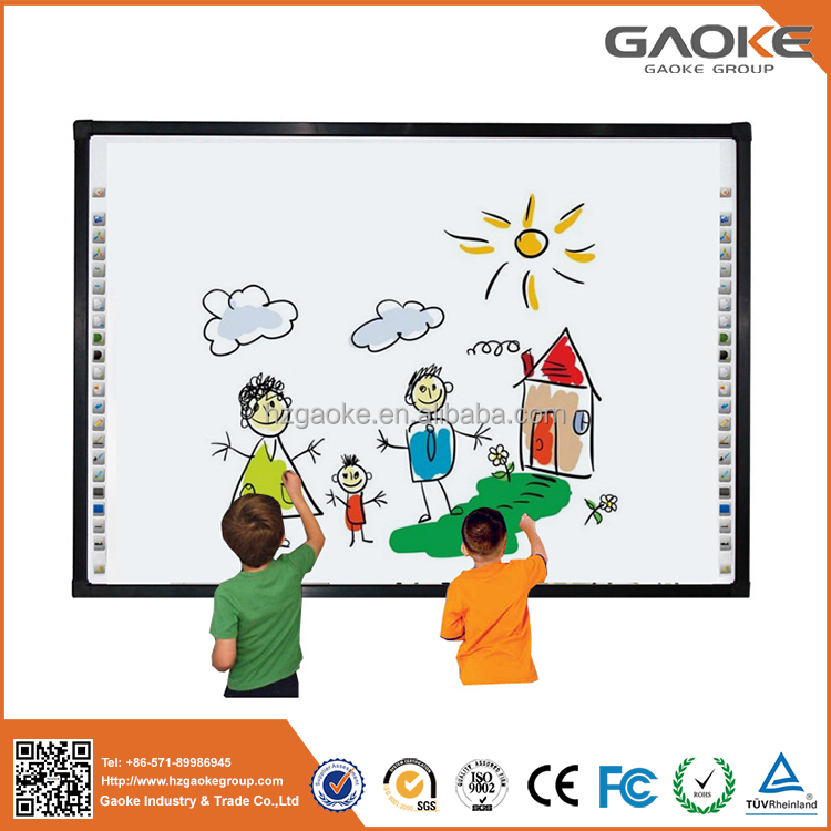 New products most popular infrared moveable smart board whiteboard with USB cable of school