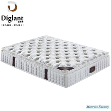 Sleep Knitted Fabric Foam With Pocket Spring Bed Unit Of The Mattress