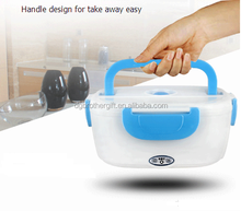 food warmer Electric Lunch Box With divided container