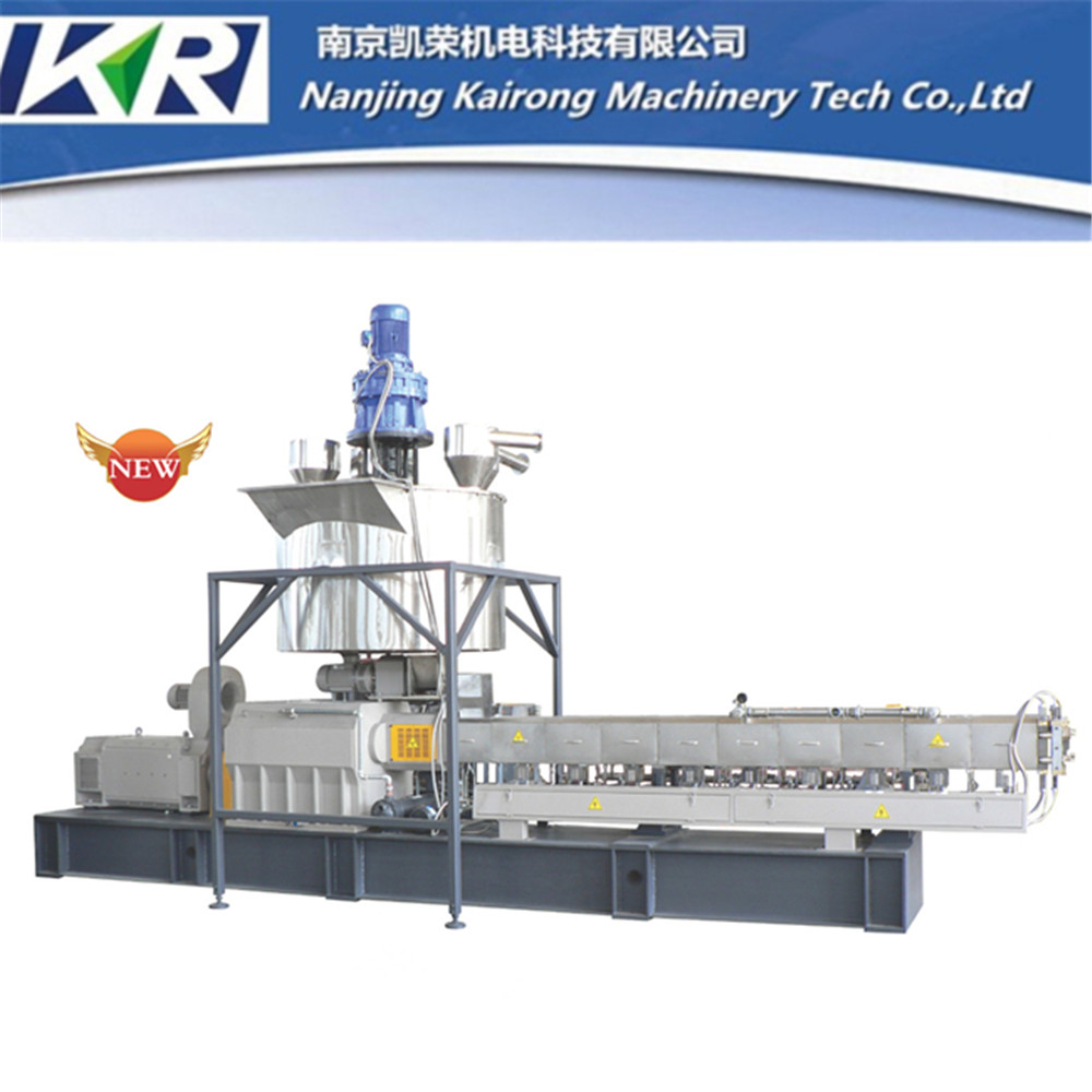 PE Peroxide Silicon Alky Crossing Cables Making Extrusion Machine