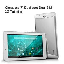 Cheap 7 inch android 3g phone tablet pc