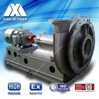Explosion proofing Coal gas boosting and conveying blower Fan