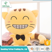 2016 new design custom Embroidery moving plush cat