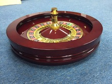 18inch solid wooden roulette wheels